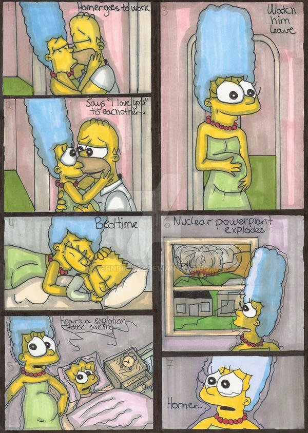 TheSimpsonFamily-HomersDeath by ChnProd22