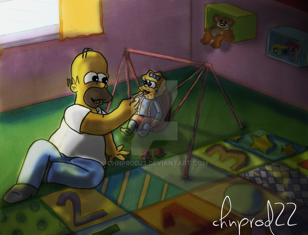 Homer And Maggie - Just Like Me by ChnProd22