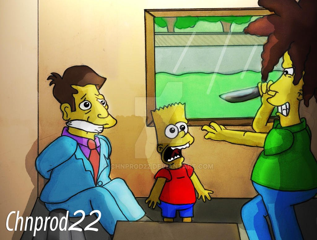 Bart - Sideshow Bob!!! by ChnProd22