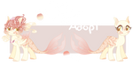 OTA OPEN ll Honeysuckle Mermaid by PockyAdopt