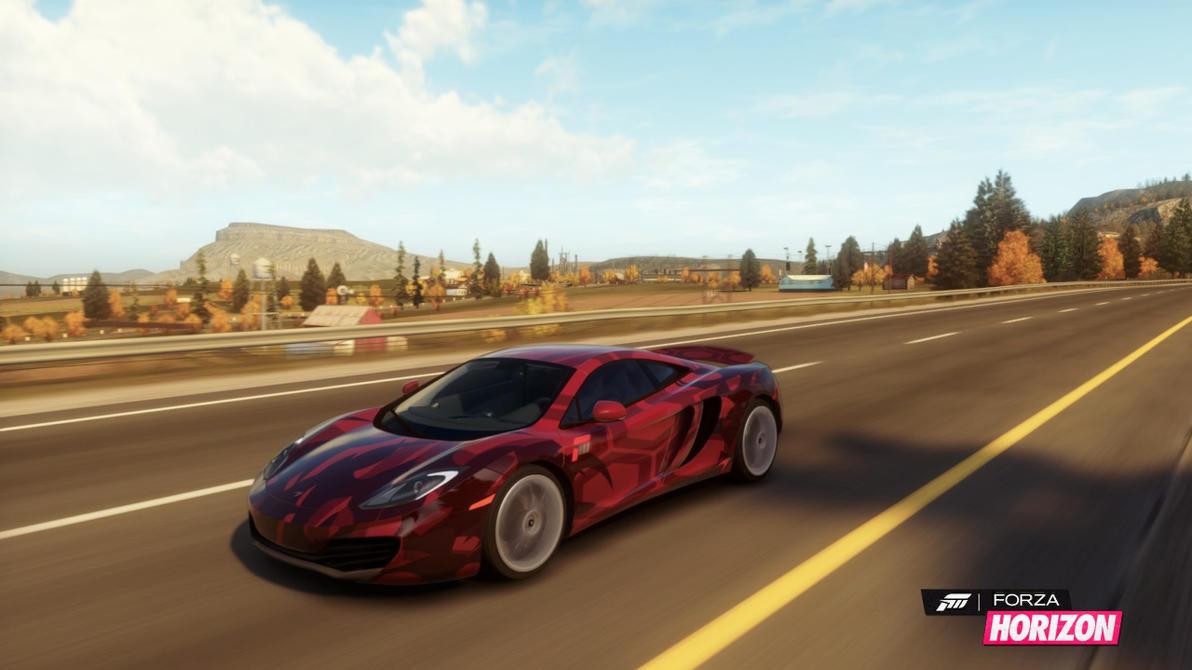 Mclaren Mp12 4c Forza Horizon By Luckymarine577 On Deviantart