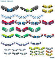 UK vehicles 4 Pixel Art by Luckymarine577