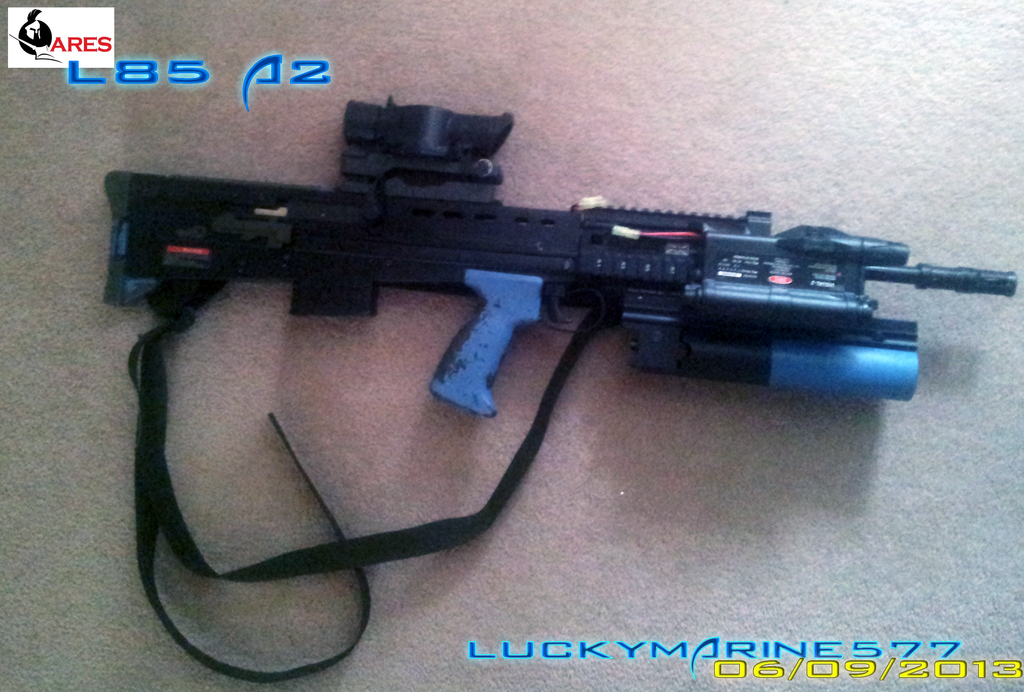Ares L85 A2 (Airsoft) by Luckymarine577