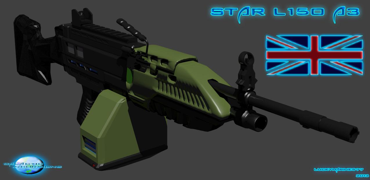 Star L150 A3 Machine Gun (Light) Part 1 by Luckymarine577