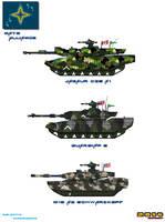 Nato Alliance Ground Vehicles Tanks Example by Luckymarine577