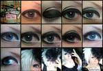 + Visual-kei make-up +