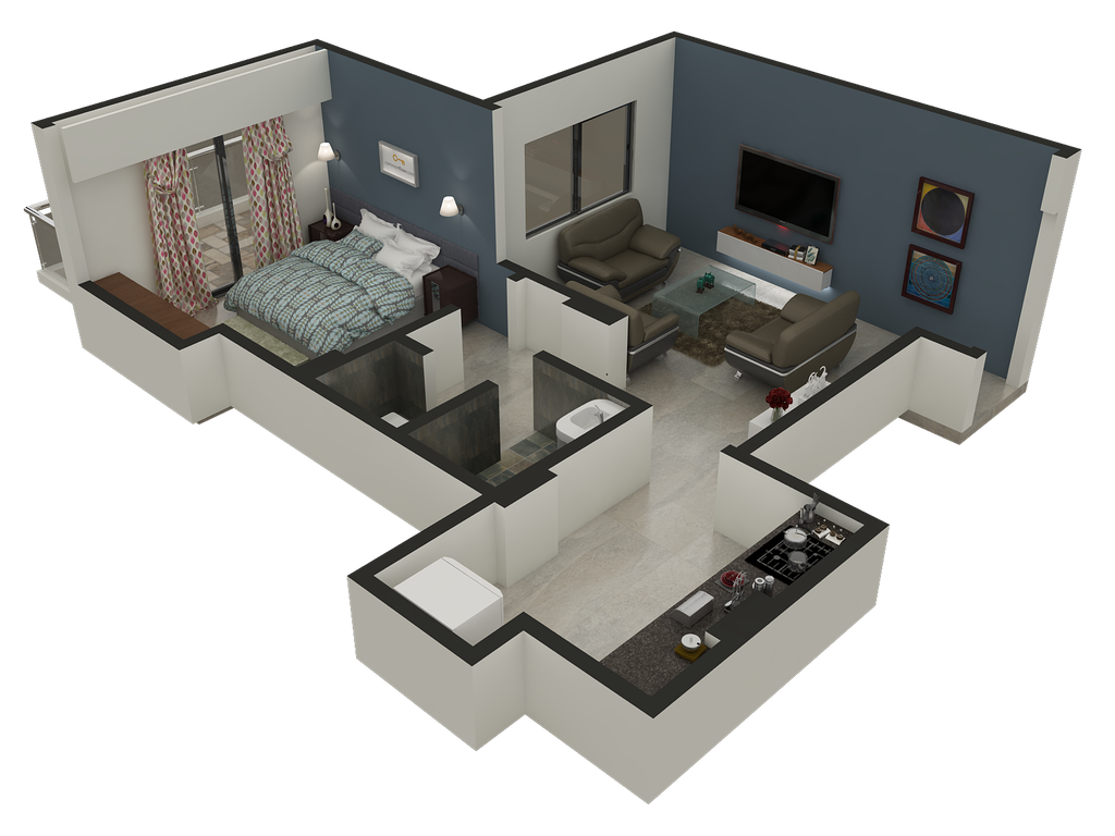3d Floor Plan Design Services By Rayvat On Deviantart