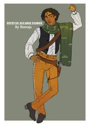 Estevan Alvarez Flores Reference sheet