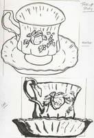 Teacup Study 1 by DodosConundrum