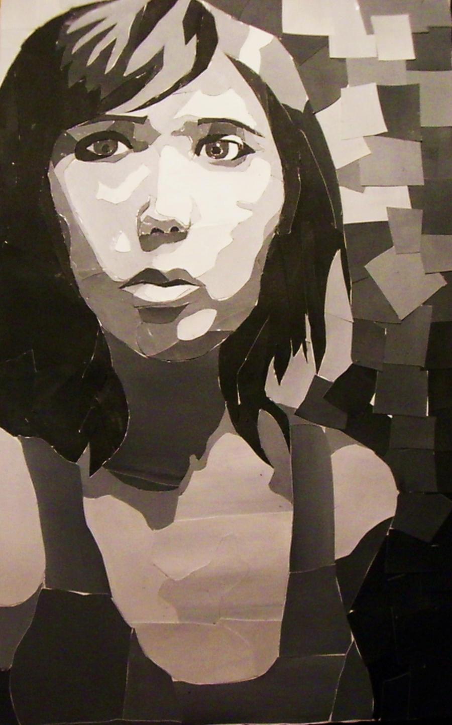 Self Portrait Collage by DodosConundrum