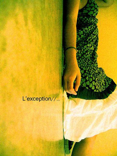 . L'exception . by HaiKirai