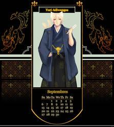 [IAS] September Calendar by sepuluhributiga