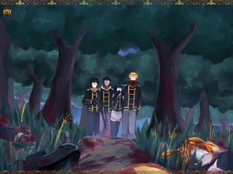 I-A-S : Case 04 | Dark Pasts | by sepuluhributiga
