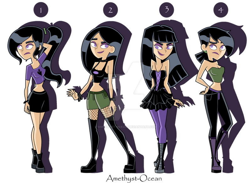 Sam Outfits Part 1 by Amethyst-Ocean on DeviantArt