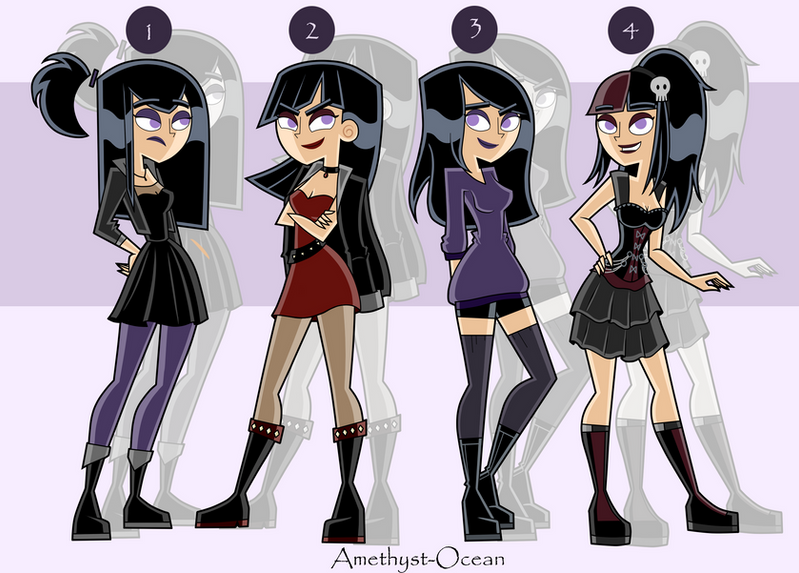 Anime Characters That Look Like Me : Sam outfits part by amethyst ocean on deviantart