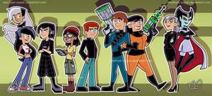 Danny Phantom- Genderbend