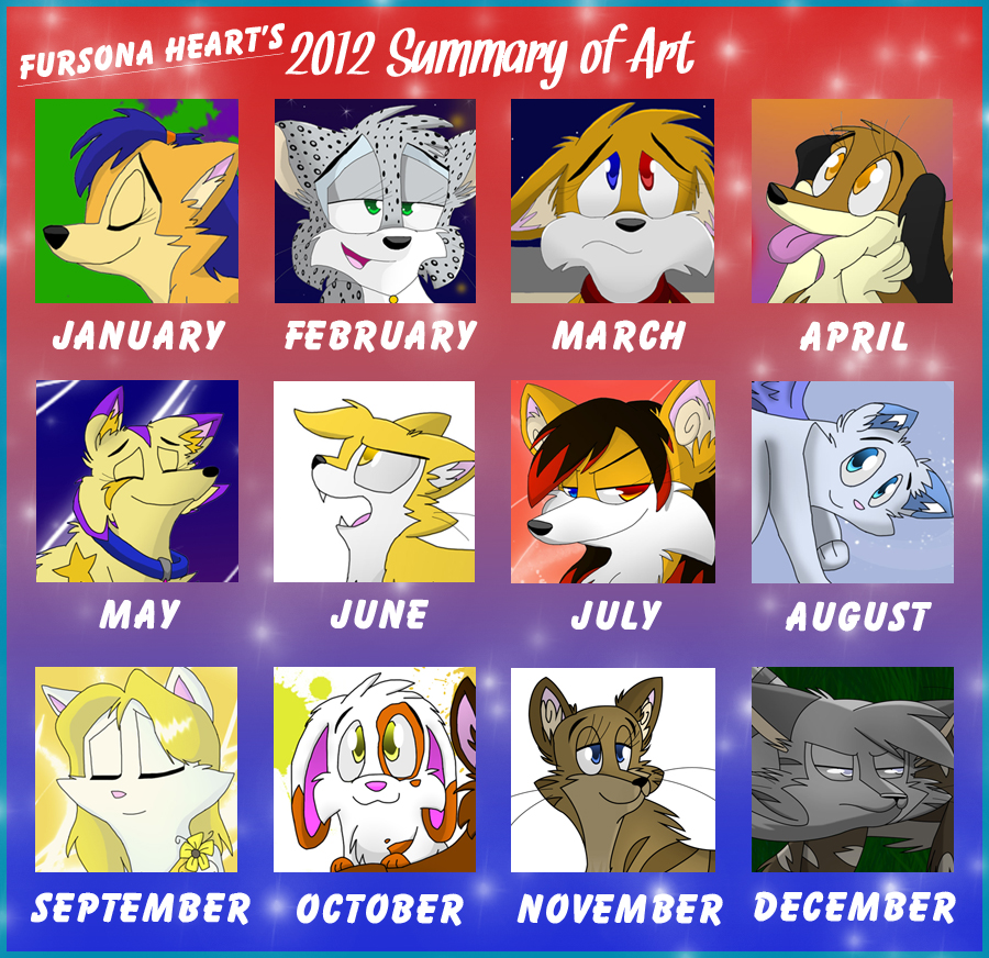 2012 Summary of Art by imajenink