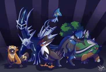 (COM) Team Rex by imajenink
