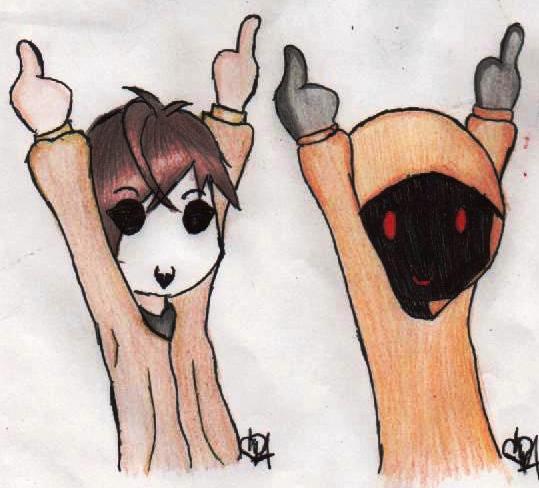 Idgaf masky and hoody by darkkiss1812 on deviantart