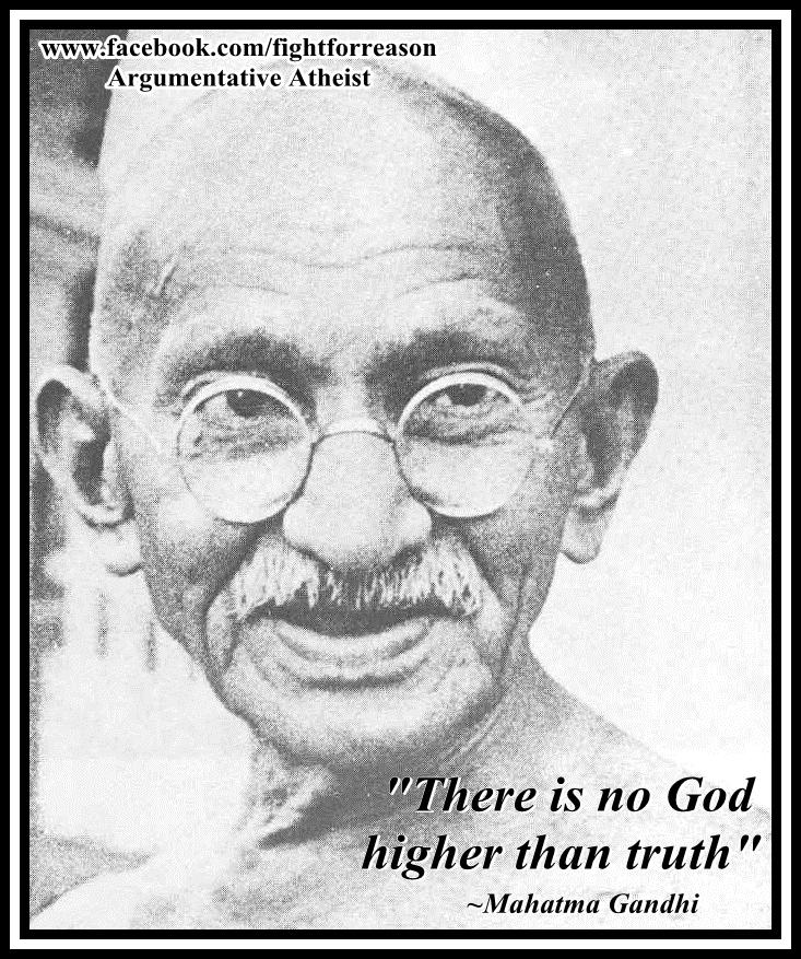 Gandhi. by AAtheist