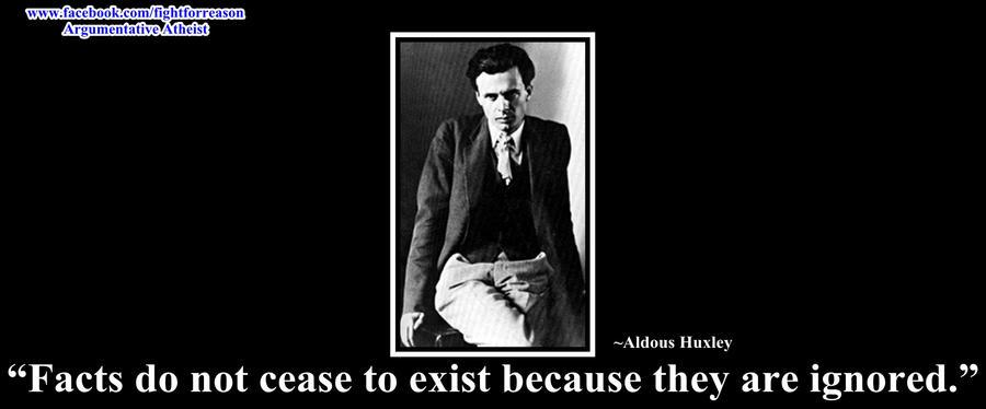 Aldous Huxley by AAtheist