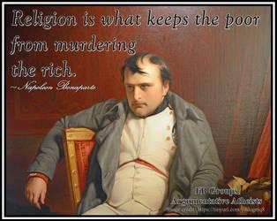 Not a fan of organised religion. by AAtheist