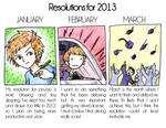 Resolutions for 2013