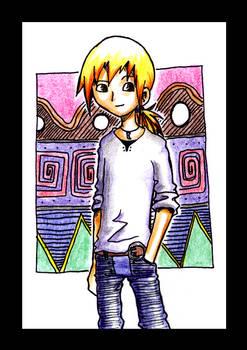 Ruu R, the young hero