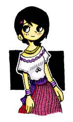 Chibi Katy Quevedo by Ruu-the-Dasher