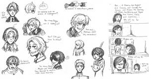 Hetalia: Hetaoni Doodles by ExclusivelyHetalia