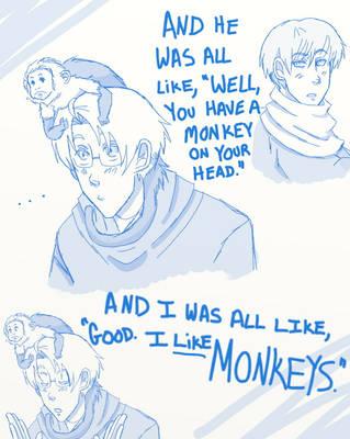 Hetalia: Monkeys by ExclusivelyHetalia