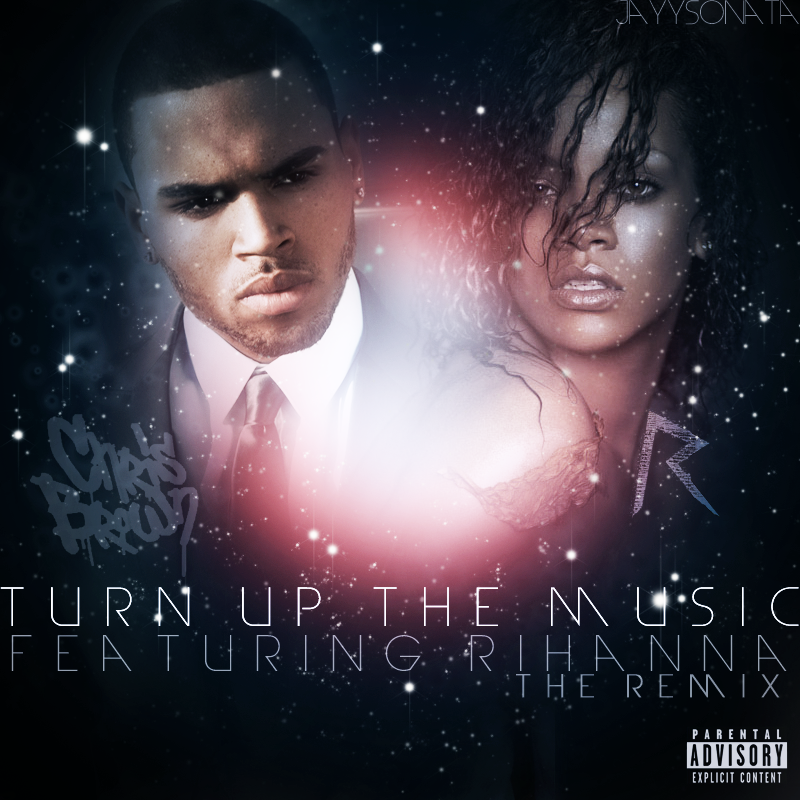 chris brown turn up the music - photo #3