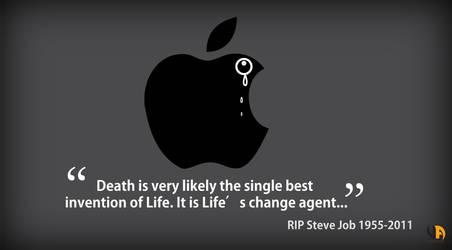 RIP Steve Job 1955-2011 by Uzi2k
