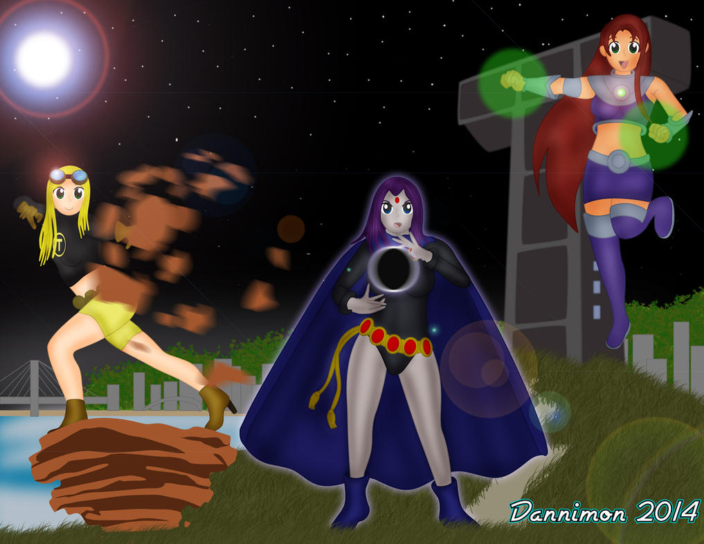 Teen Titans gehen Downloads