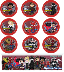 Chibi Spider Man Spiderverse by DannimonDesigns