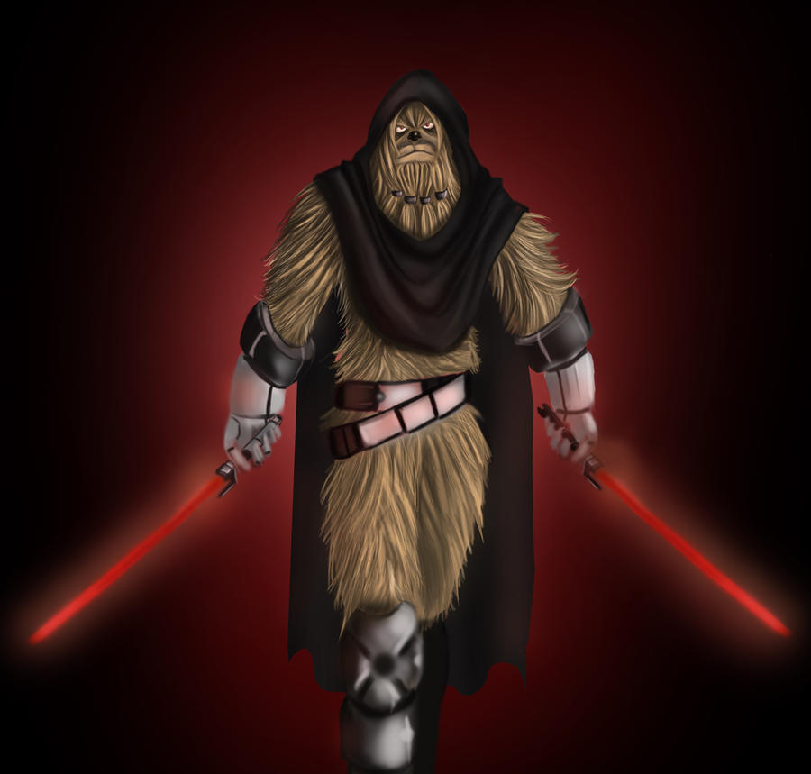 wookie sith by exodevianart