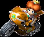 Mario Kart Wii Daisy Bike