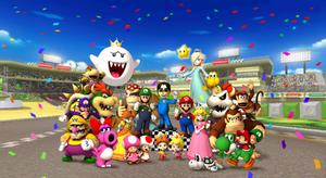 Mario Kart Wii Victory Screen