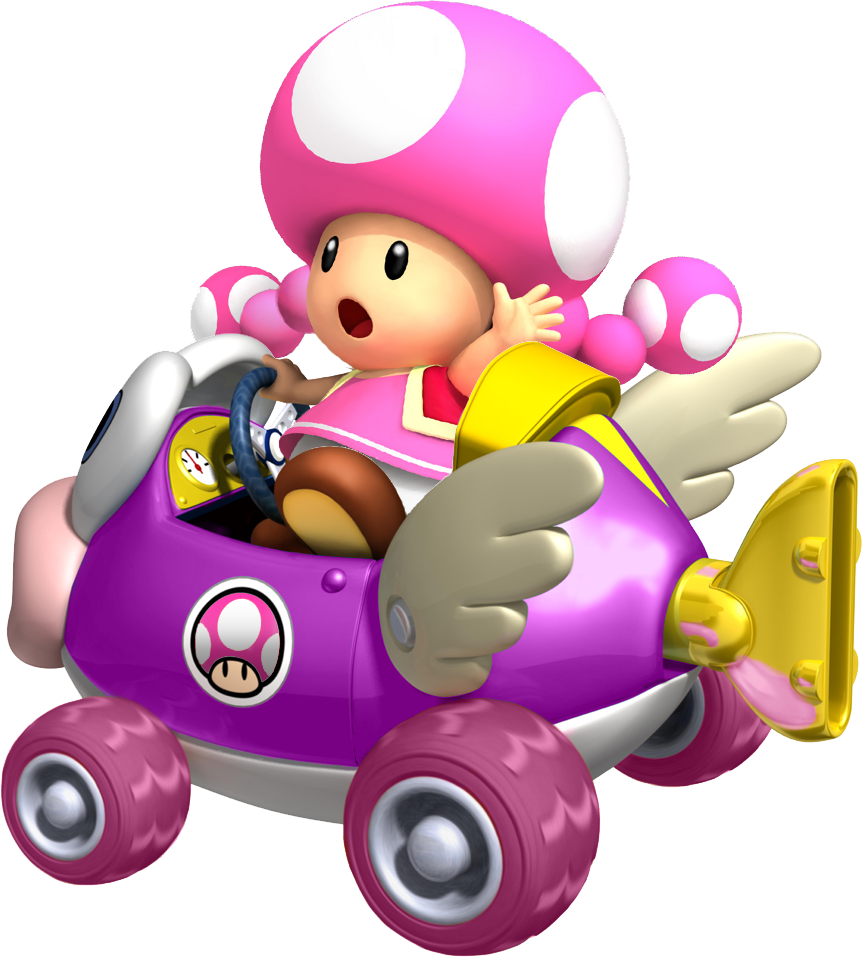Toadette Cheep Charger By Tonytoad22 On Deviantart