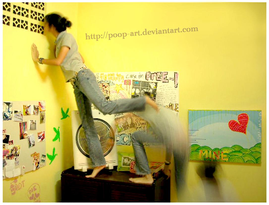 peek-a-boo.. by poop-art