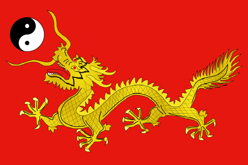 Flag of the Chinese Empire by Rikitikiwiki on DeviantArt