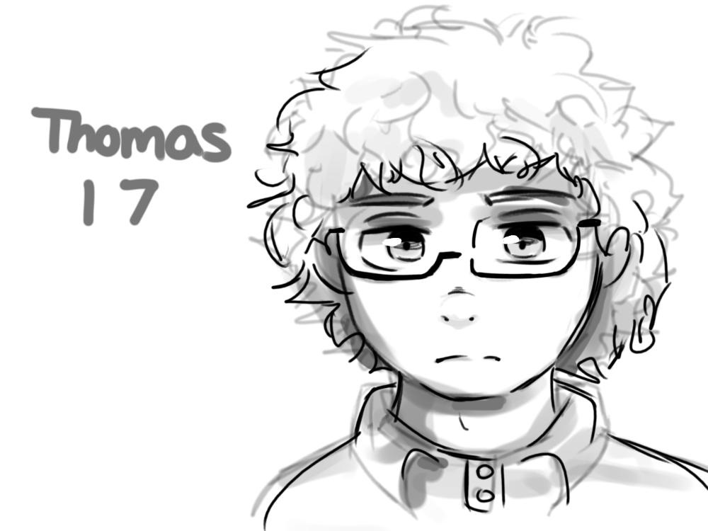 Thomas. by smolspacechild