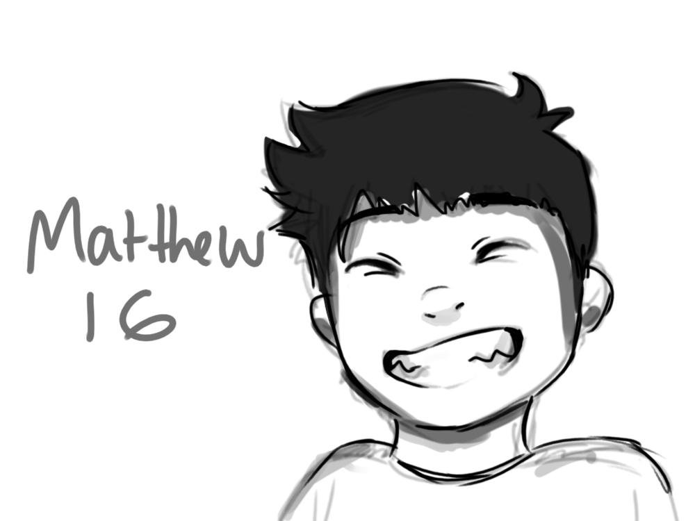 Matthew by smolspacechild