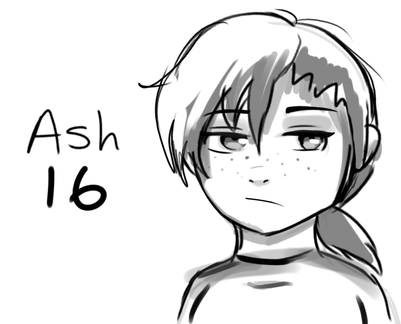 Ash 2 by smolspacechild
