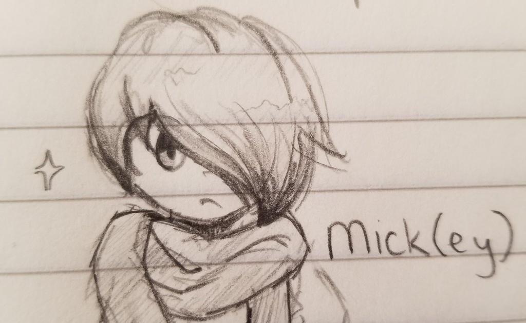 Mick Sketch by smolspacechild