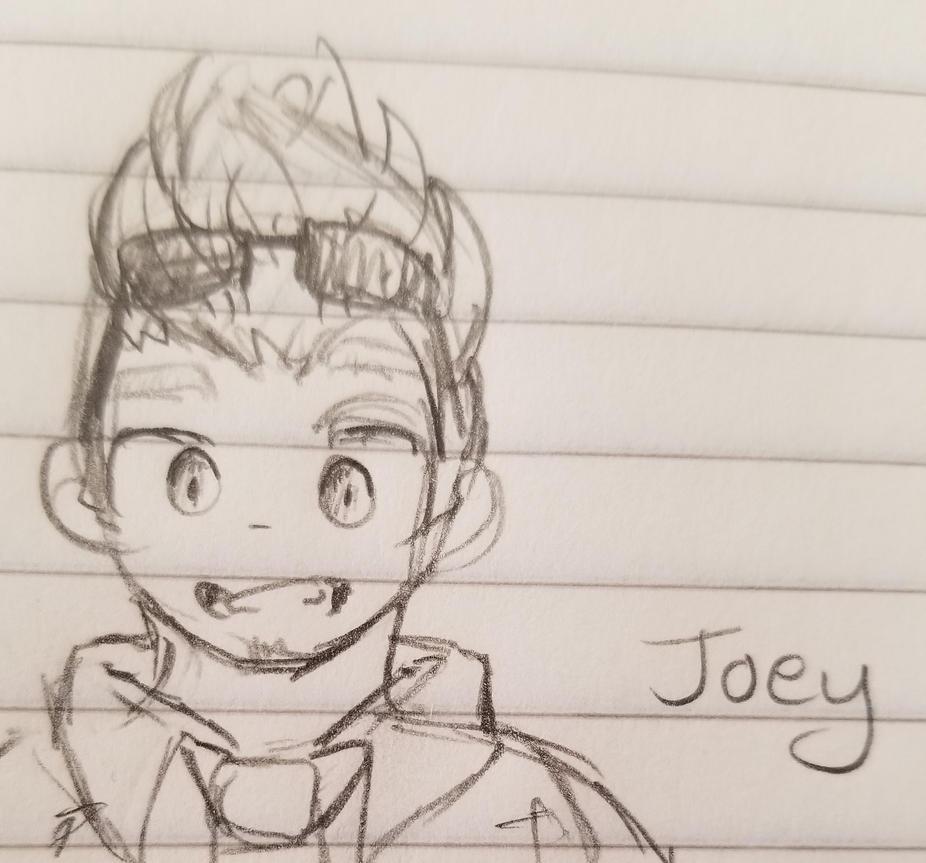 Joey Sketch by smolspacechild
