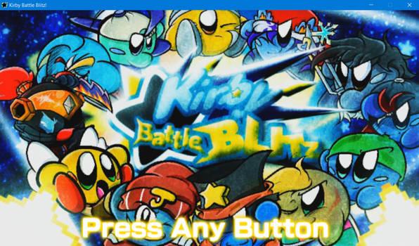 Kirby Battle Blitz! Title Screenshot