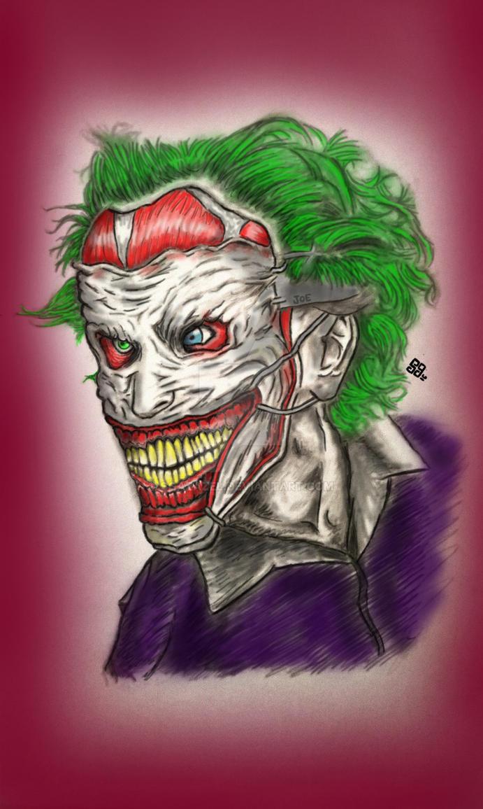 Joker New 52 by sgazazel