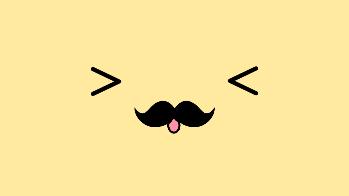 mustache wallpaper for iphone