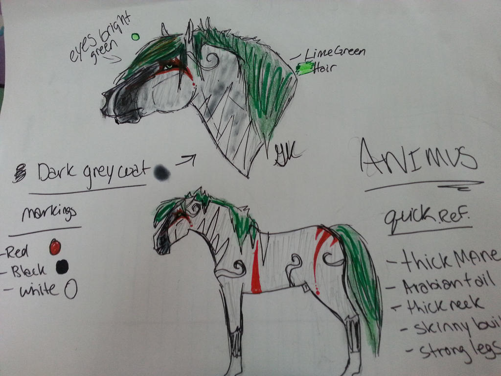 quick ref Animus by CheerUpCharlie1